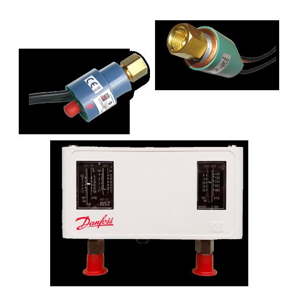 Chiller Parts UAE - Pressure Controls